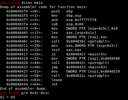 Introduction to exploiting Part 1 - Stack 0-2 (Protostar) – ironHackers