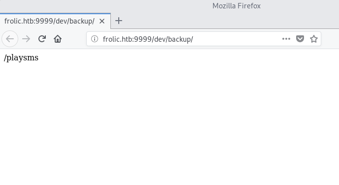 WriteUp – Frolic (HackTheBox) – ironHackers